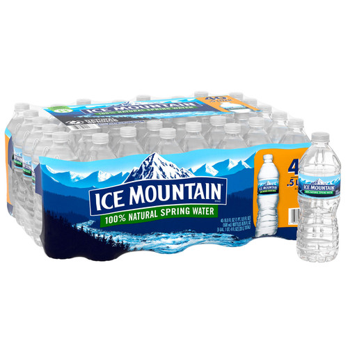 Ice Mountain 100% Natural Spring Water (16.9oz / 40pk) - *Special Order
