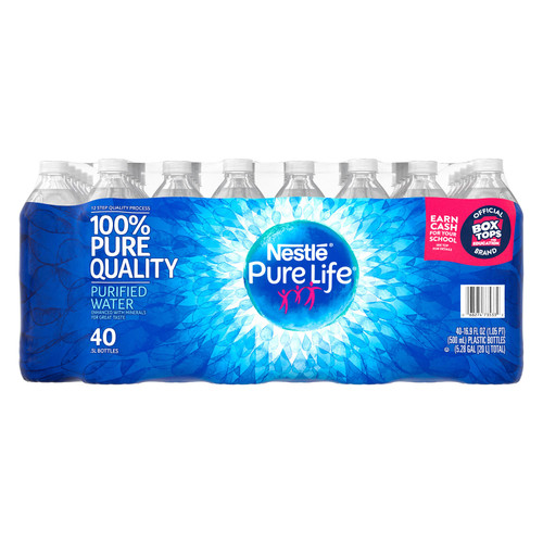 Nestle Pure Life Purified Water (16.9oz / 40pk) - *Special Order