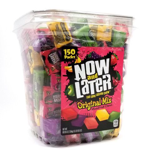 Now & Later Fruit Chews Candy (89.95 oz.) - *Special Order