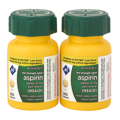 Member's Mark 81 mg Low Strength Aspirin (730 ct.) - *Special Order
