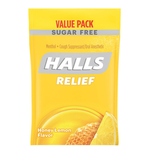 HALLS Relief Honey Lemon Sugar Free Cough Drops Value Pack (180 ct.) - *Special Order