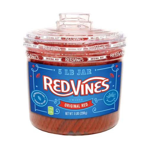 Red Vines Original Red Twists (5 lbs.) - *Special Order