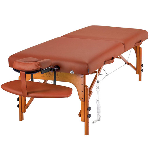 "Master Santana Therma Top LX King Size Massage Table - 31"" - Carry Case - *Special Order"