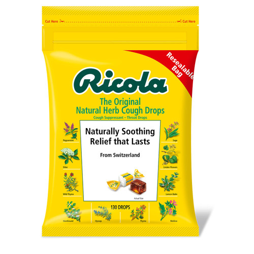 Ricola Original Natural Herb Cough Drops (130 ct.) - *Special Order
