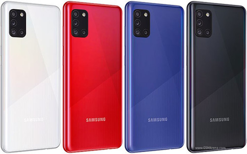 Samsung Galaxy A31 (64GB, 4GB RAM) , 48/20MP Camera Dual SIM GSM Factory Unlocked , Global 4G LTE   - *Ships from Miami*