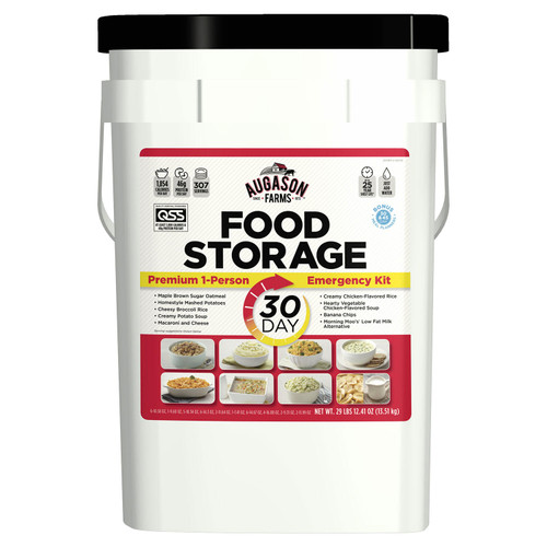 "Augason Farms Emergency Food Supply (30-Days 1-Person) âÇ"" QSS Certified - *Special Order"