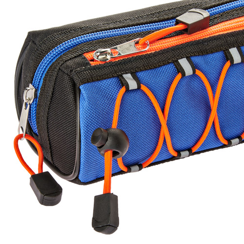 Pen + Gear Pencil Pouch, Bungee, Blue and Orange  - *Ships from Miami*