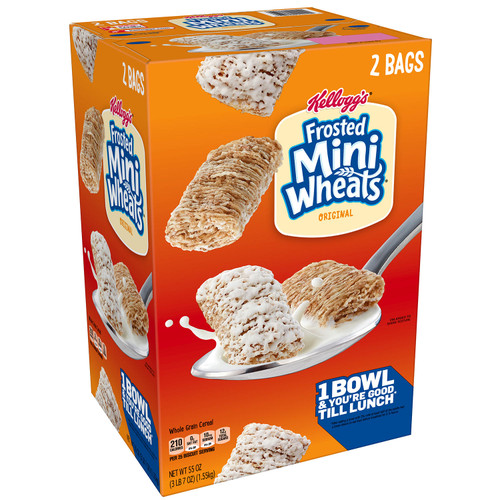 Kellogg's Frosted Mini Wheats (55 oz.) - *Special Order