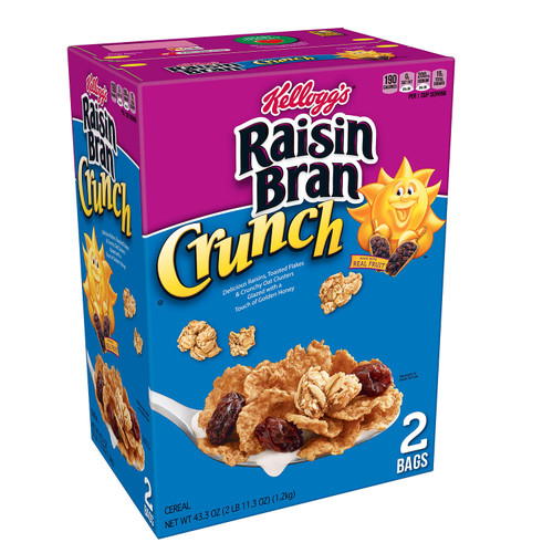 Raisin Bran Crunch Cereal (43.3oz.) - *Special Order