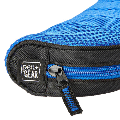Pen + Gear Blue Mesh Sport Pencil Pouch  - *Ships from Miami*