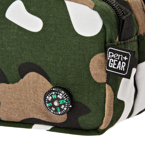 Pen + Gear Camo with Compass Pencil Pouch  - *Ships from Miami*