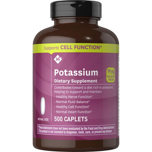 Member's Mark 99 mg Potassium Dietary Supplement (500 ct.) - *Special Order