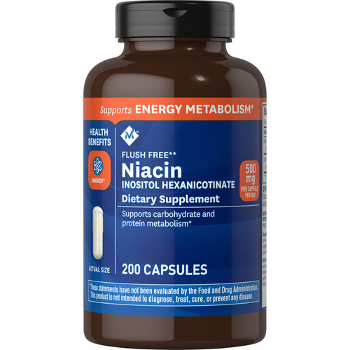 Member's Mark 500 mg Niacin Dietary Supplement (200 ct.) - *Special Order