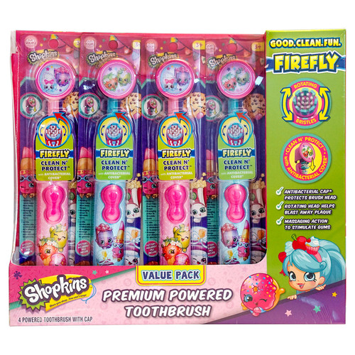 Firefly Premium Powered Toothbrush, Choose Your Character (4 pk.) - *Special Order