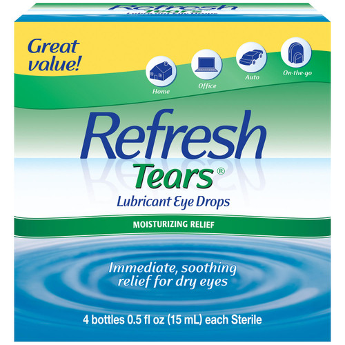 Refresh Tears Lubricant Eye Drops Multi-pack (4 ct.) - *Special Order