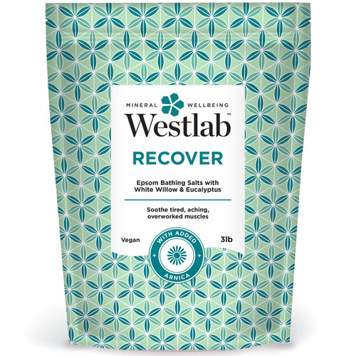 Westlab Recover Epsom Bathing Salts with White Willow, Eucalyptus and Arnica - *Special Order