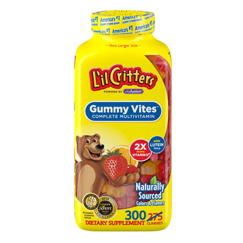 L'il Critters Gummy Vites Gummy Bears (300 ct.) - *Special Order