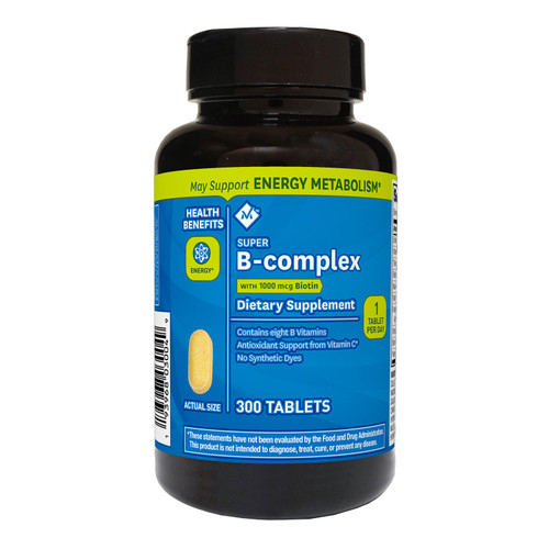 Member's Mark Super B-complex Dietary Supplement (300 ct.) - *Special Order