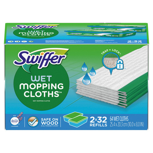 Swiffer Sweeper Wet Refills, Lavender Vanilla and Comfort (64 ct.) - *Special Order