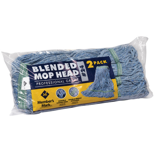 Member's Mark Commercial #24 Blended Mop Head (2 pk.) - *Special Order