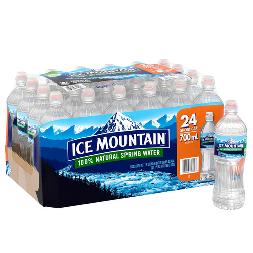 Ice Mountain Sportcap 100% Natural Spring Water (23.7oz / 24pk) - *Special Order