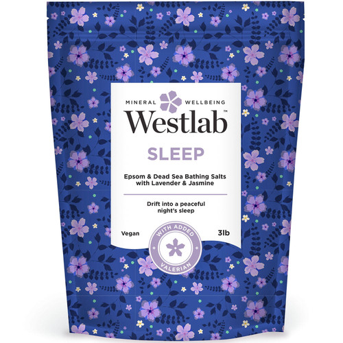 Westlab Sleep Epsom and Dead Sea Salts with Lavender and Jasmine (3 lbs.) - *Special Order