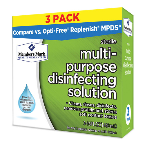 Members Mark Multi-Purpose Disinfecting Solution (16 oz. bottle, 3 ct.) - *Special Order