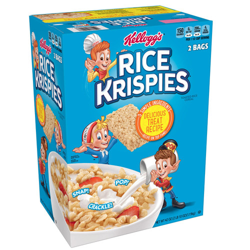 Kellogg's Rice Krispies Breakfast Cereal (42 oz., 2 pk.) - *Special Order
