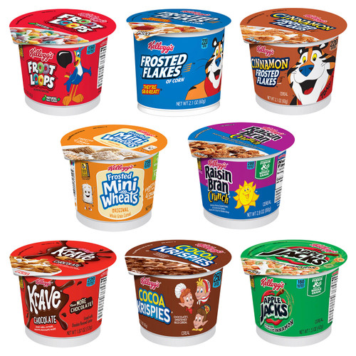 Kellogg's Favorite Cereal in a Cup Assortment Pack (60 ct.) - *Special Order