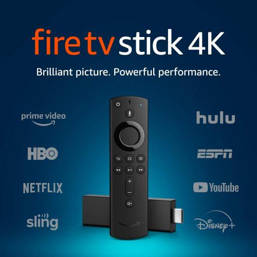 AMAZON FIRE TV STICK W/ALEXA