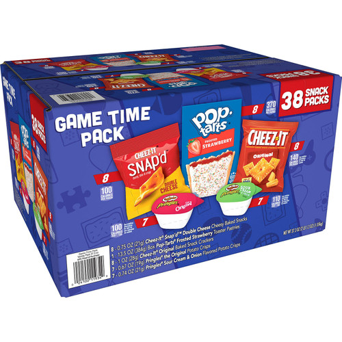 Kellogg's Game Time Snacks, Variety Pack (38 pk.) - *Special Order