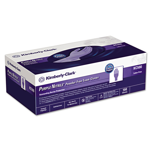 Kimberly-Clark Professional - PURPLE NITRILE Exam Gloves, Small, Purple - 100/Box - *Special Order