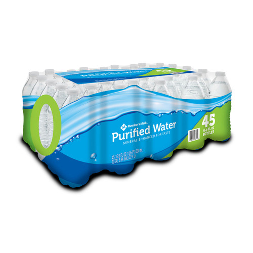Member's Mark Purified Bottled Water (16.9oz / 45pk) - *Special Order