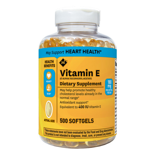 Member's Mark Vitamin E 400 IU Dietary Supplement (500 ct.) - *Special Order