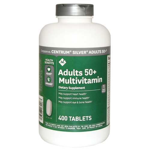Member's Mark Adults 50+ Multivitamin (400 ct.) - *Special Order