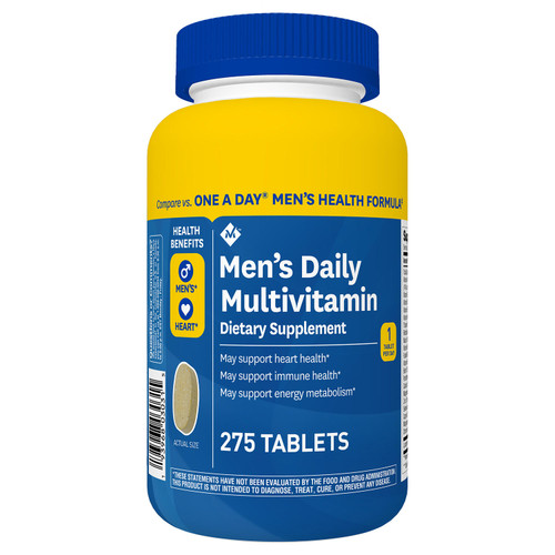Member's Mark Men's Daily Multivitamin (275 ct.) - *Special Order