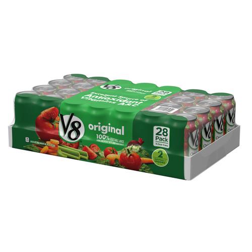 V8 Original Vegetable Juice Cans (11.5oz / 28pk) - *In Store
