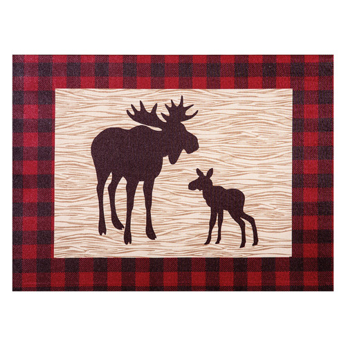 Trend Lab Canvas Wall Art, Northwoods Moose - *Special Order
