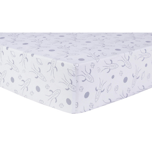 Trend Lab Fitted Crib Sheet, Galaxy - *Special Order