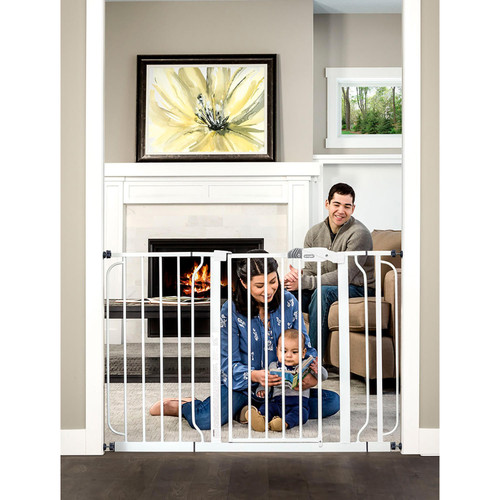 "Regalo Easy Step Extra Wide Baby Gate, Adjustable 29"" -49"" (Choose Your Color) - *Special Order"