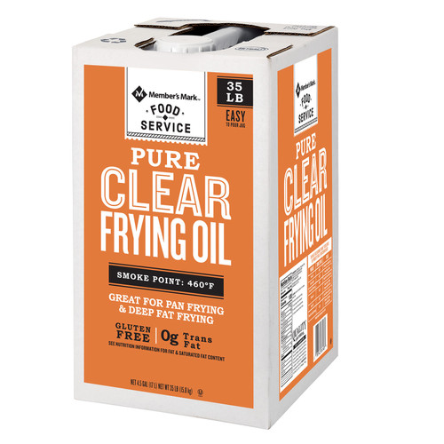 Member's Mark 100% Pure Clear Frying Oil (35 lbs.) - *Special Order