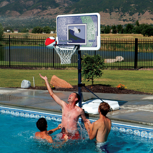 """Lifetime 44"""" Impact Poolside Basketball System - *Special Order"""