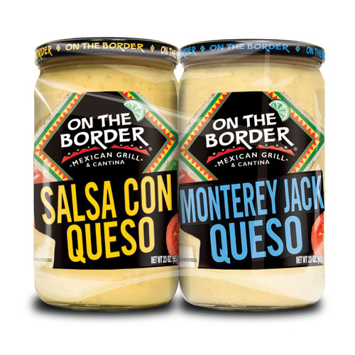 On The Border Queso, Variety Pack (23 oz., 2 pk.) - *Special Order