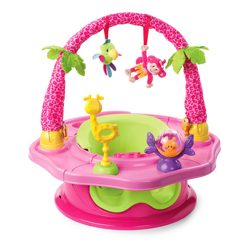 Summer Infant Deluxe SuperSeat Island Giggles - Girl - *Special Order