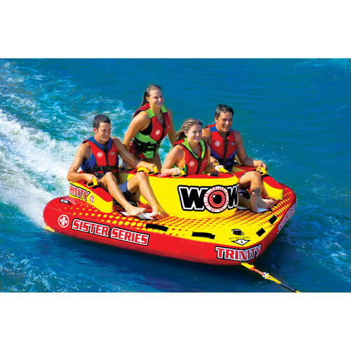 WOW, Trinity Sister Series Face-to-Face S-Shaped Towable, 1 to 4 - *Special Order