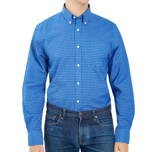Member's Mark Classic Long Sleeve Stretch Oxford Shirt - *Special Order
