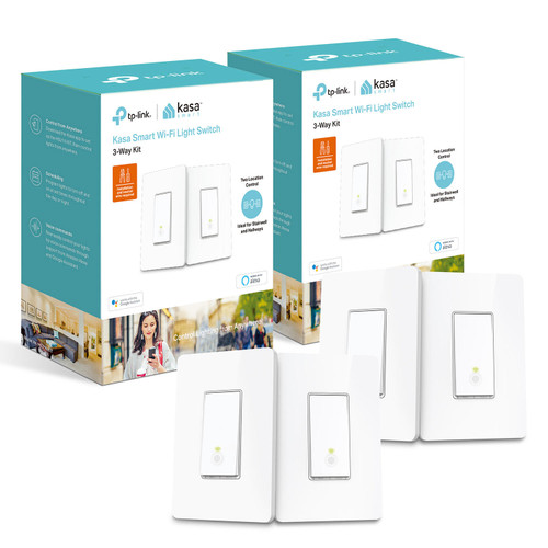 TP-Link HS210 Smart Wi-Fi Light Switches (4 Switches) - *Special Order