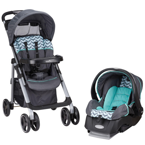 Evenflo Vive Travel System with Embrace Infant Car Seat (Choose Your Color) - *Special Order
