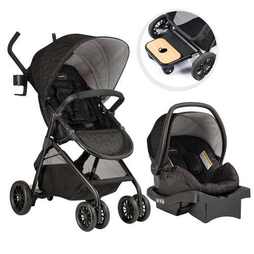 Evenï¬,o Sibby Travel System with LiteMax Infant Car Seat (Choose Your Color) - *Special Order