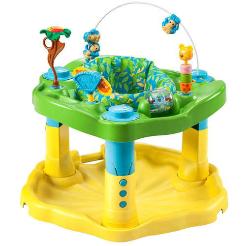 Evenflo Exersaucer Bouncing Activity Saucer, Zoo Friends - *Special Order